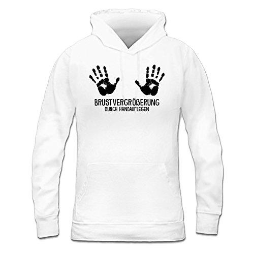 Shirtcity Brustvergrößerung durch Handauflegen Frauen Kapuzenpullover by