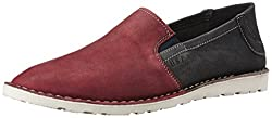 U.S Polo Assn. Mens Brick Leather Loafers and Mocassins - 10 UK