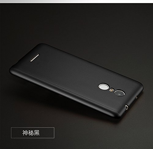 Xiaomi REDMI 4 Ipaky 360 Degree Full Body Protection Front Back Tempered Case (Black)