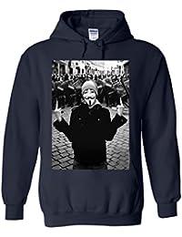 Anonymous Vendetta Protest Novelty White Femme Homme Men Women Unisex Sweat à Capuche Hooded Sweatshirt Hoodie