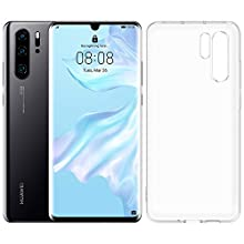 Huawei P30 Pro 128 GB 6.47 Inch OLED Display Smartphone with case, Leica Quad AI Camera, 8GB RAM, EMUI 9.1.0 Sim-Free Android Mobile Phone, Single SIM, Midnight Black (Exclusive to Amazon)