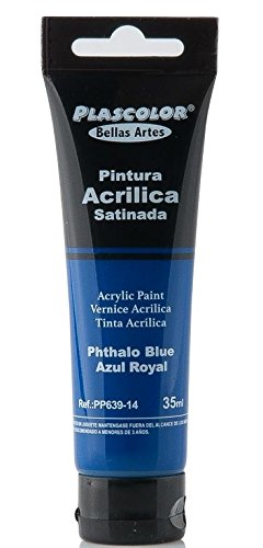 plascolor pp639-14Acrylfarbe, 35ml, Blau ftalo