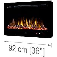 Noble Flame París 920 [Chimenea eléctrica Empotrada Pared / Montado en la pared ]