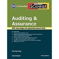 Taxmann's Scanner-Auditing & Assurance (CA-Intermediate-New Syllabus)(5th Edition 2019-Updated till 31-10-2019)