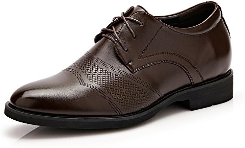 XHD-Scarpe Classico Scarpe Scarpe Scarpe da Uomo in Pelle da Uomo Altezza Crescente 6cm Business Oxford Traspirante Moderno... | lusso  | Uomo/Donna Scarpa  af13e3