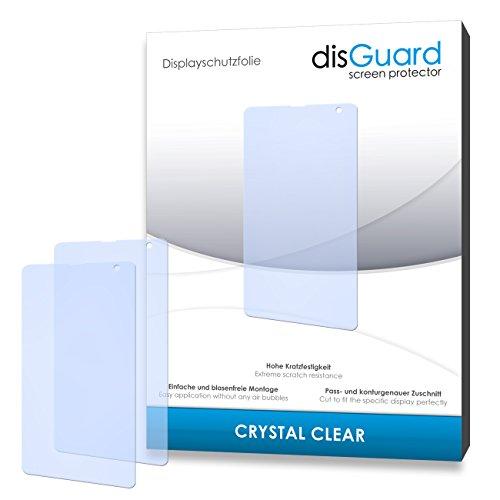 disGuard® Bildschirmschutzfolie [Crystal Clear] kompatibel mit Microsoft Lumia 535 [4 Stück] Kristallklar, Transparent, Unsichtbar, Extrem Kratzfest, Anti-Fingerabdruck - Panzerglas Folie, Schutzfolie