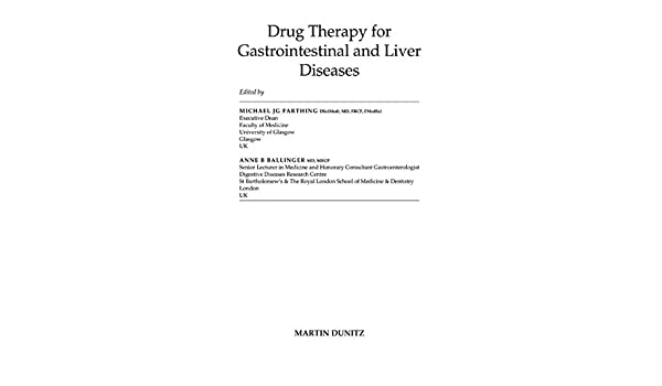 Drug Therapy for Gastrointestinal Disease: Amazon co uk