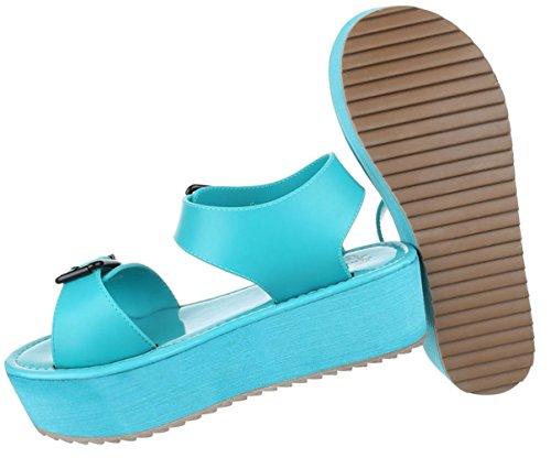 38 40 Türkis Coral Damen 37 39 Schuhe Strandschuhe Weiß 36 Sommerschuhe 41 Moderne Sandalen fRR7q4xw