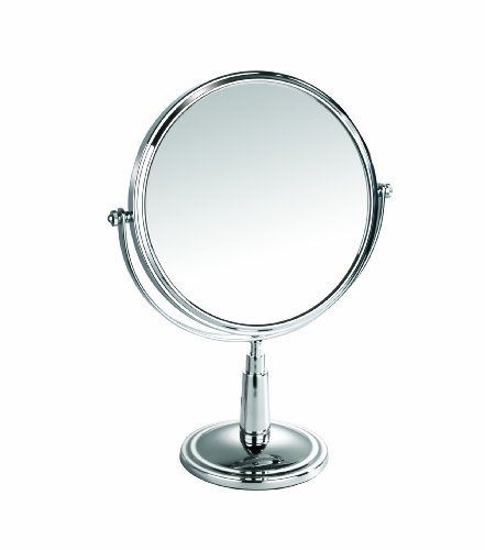 Miroir danielle chrome for Miroir grossissant x 20