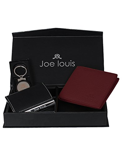 Joe Louis Multicolour Leather Gift Set for Men