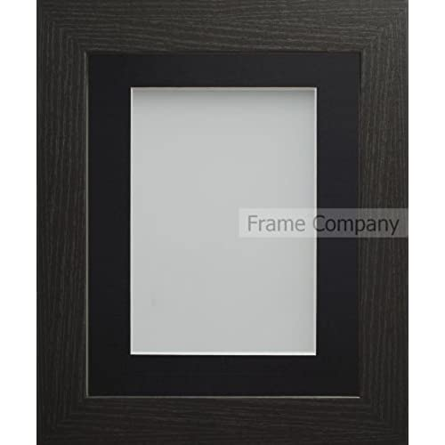 Large Black Photo Frames with Mounts: Amazon.co.uk