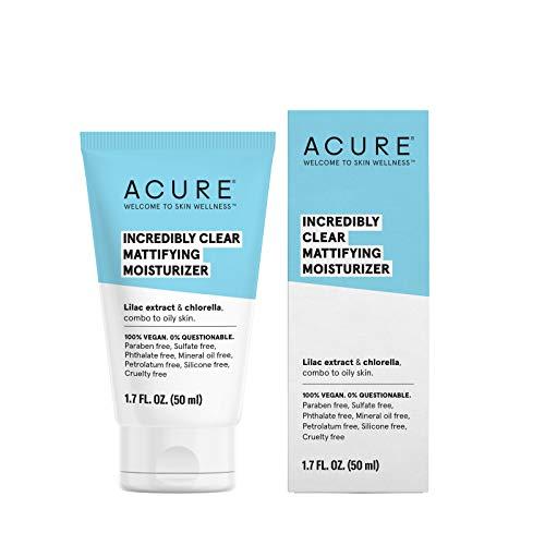 Acure Organics, Oil Control Facial Moisturizer, Lilac Stem Cells + 1{af72e726e507aaf8d577ddb395737606f51b682d3391b8dec0bb88514333d195} Chorella Growth Factor, 1 fl oz (30 ml)