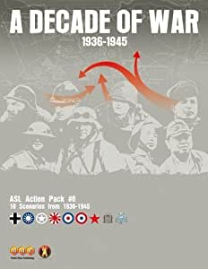 Advanced Squad Leader: A Decade Of War - Action Pack #6 (Asl) by Multi Man Publishing