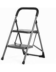Bathla Boost Foldable Steel Ladder with Anti-Slip Steps