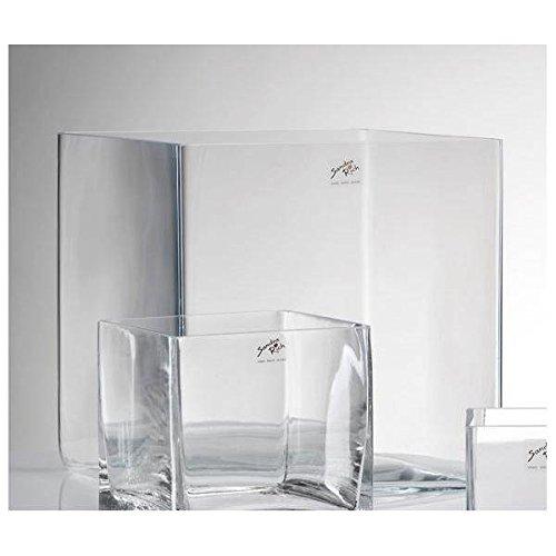 Vase eckig 25 x 25 cm Cube
