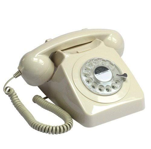 Protelx Rotary Ivy - Teléfono Fijo analógico