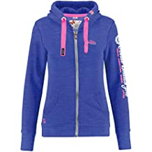 Superdry Damen Sweatjacke blau