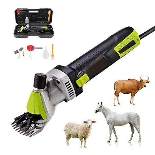 Sheep Elettrico Clipper Lana Cesoia Pecore Cesoie Farm Elettrico Pecora Caprino Clipper Kit Animal Shave 110V-240V 500W 0-2400 RPM
