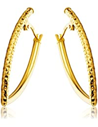 Miore Earrings Women Hoops Yellow Gold 9 Kt / 375