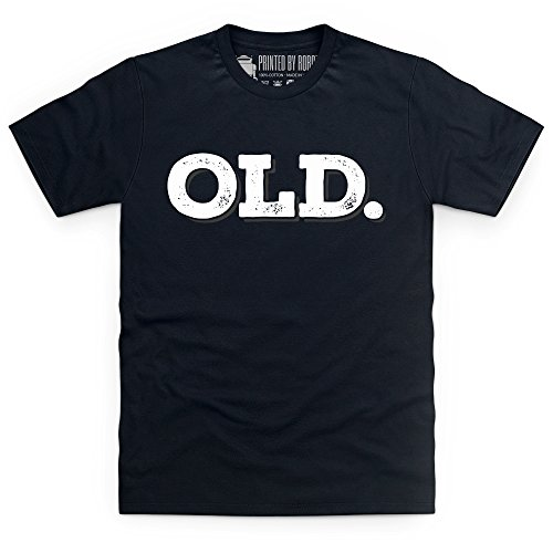 Old T-shirt, Uomo Nero
