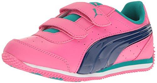 Speed Shocking PS PUMA V True Pink Puma Leder Turnschuhe Power Lightup Blue Owfq7xa