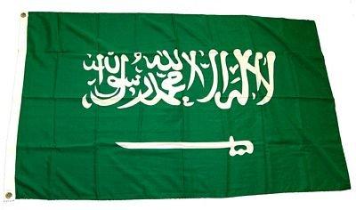 Fahne / Flagge Saudi Arabien 90 x 150 cm Flaggen