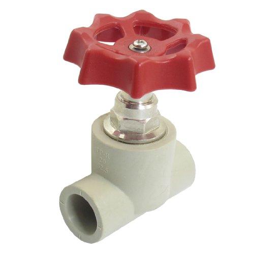 sourcingmap-red-rotazione-della-ruota-20-millimetri-x-20mm-foro-valvola-a-saracinesca-di-arresto-acq