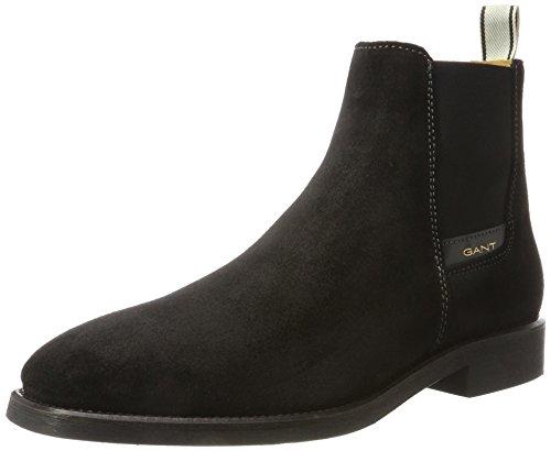 GANT Footwear Herren James Chelsea Boots, Schwarz (Black), 43 EU