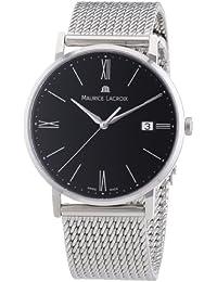 Maurice Lacroix Men's Watch XL Analogue Quartz Stainless Steel Eliros EL1087–SS 002–310