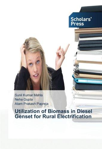 Utilization of Biomass in Diesel Genset for Rural Electrification usato  Spedito ovunque in Italia