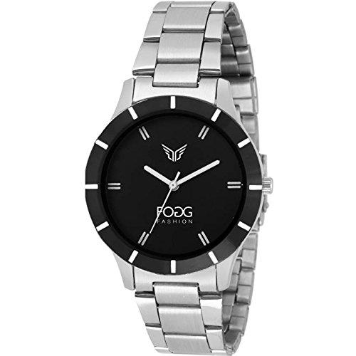 Fogg Analog Black Dial Women's Watch -4004-BK