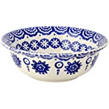 Emma Bridgewater - Blue Hen & Border - Cereal Bowl