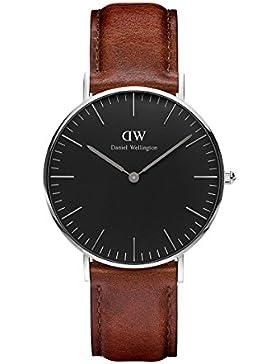 Daniel Wellington Classic Damen-Armbanduhr Analog Quarz Leder - DW00100142