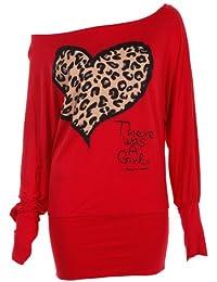 Chauve-souris avec épaule dénudée pour femme Imprimé léopard en forme de robe