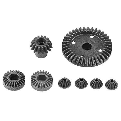 Dilwe RC Auto Differentialgetriebe, 8-teiliges Metallgetriebe für Wltoys A949 / a959 / a969 / a979 / K929-B 1/18 RC-Kfz-Zubehörteile