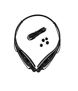 CASVO Samsung Galaxy Ace Duos Compatible Wireless Bluetooth HBS-730 On-ear Sports Headset Headphones BLACK