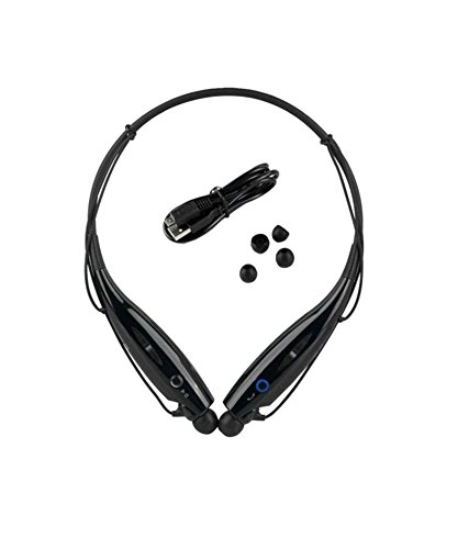 Karbonn K84 Compatible Wireless Bluetooth HBS-730 On-ear Sports Headset Headphones BLACK By CASVO  available at amazon for Rs.699