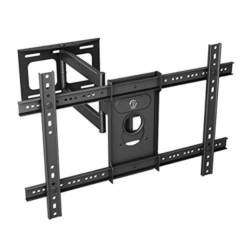TV Wandhalterung Universal für 40-70 Zoll (ca. 101-178cm) Schwenkbar Neigbar Wand Halter Aufhängung Fernseh Halterung auch für Curved LCD und LED Fernseher | VESA 200x200 400x600 bis 55KG (40-zoll-led-tv Vizio)