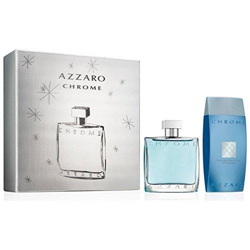 Azzaro Chrome pour Homme EDT 100 ml + SG 200 ml (man)