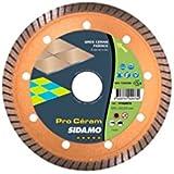 Sidamo - Disque diamant PRO CERAM D.180 x 30 x 7 x ép. 1,8 mm - JC cannelée - Carrelage/Faïence/Grès -- 11102087