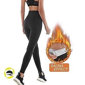 NHEIMA Pantaloni Sauna Dimagranti, Leggings Anticellulite Donna Fitness, Leggings Termici Vita Alta in NANOTECHNOLOGIE… 7 spesavip