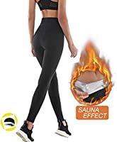 NHEIMA Pantaloni Sauna Dimagranti, Leggings Anticellulite Donna Fitness, Leggings Termici Vita Alta in NANOTECHNOLOGIE...