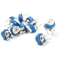 10pezzi Attraverso Foro Cermet Trimmer Pot potenziometro resistore 4.7K Ohm - Cermet Trimmer Potenziometri