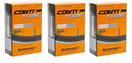3 x Continental Schlauch MTB 27.5 AV 40 (27.5 x 1.75 -> 2.40) Sparpackung