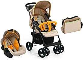 Hauck - Shopper Slx Travel System W/Bag - Bear Beige