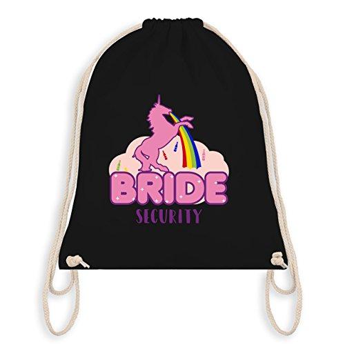 Jga Bachelorette Party - Jga Bride Security Unicorn - Borsa Da Ginnastica I Gym Bag Nera