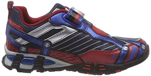 Geox JR LIGHT ECLIPSE A Jungen Sneakers Mehrfarbig (C0200BLUE/RED)