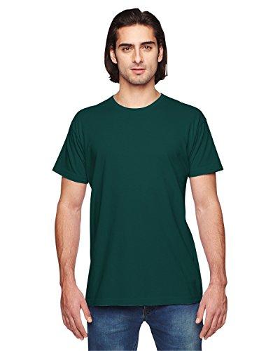 American Apparel -  T-shirt - Abbigliamento - Uomo Bosco