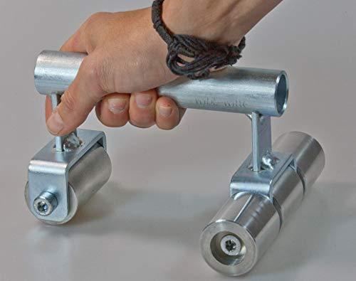 Bulli Anpressroller, schwerer Andrückroller für Vinylbodenverlegung und Nähte