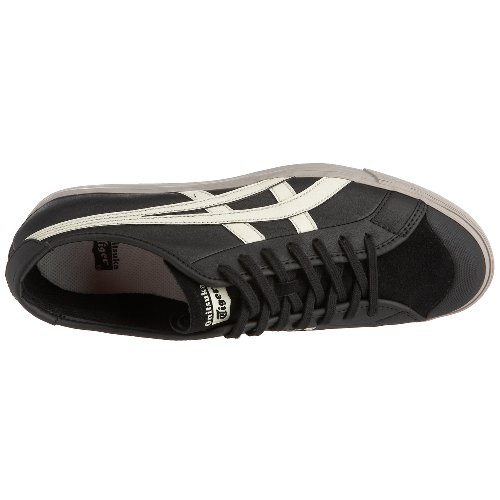 Onitsuka Tiger - Coolidge LO - Black / Light Grey - Baskets Mixte Gris - Black /Light Grey